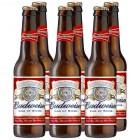 Cerveza Budweiser 25 Cl Pack-6 5º <hr>2.44€ / Litro.
