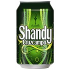 Shandy Cruzcampo Lata 33 Cl 0,9º <hr>1.73€ / Litro.