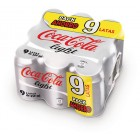 Cocacola Light 33 Cl Pack 9 Latas <hr>1.65€ / Litro.