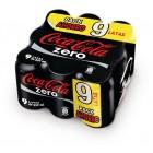Cocacola Zero 33 Cl Pack 9 Latas <hr>1.56€ / Litro.