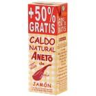 Caldo Aneto Jamón Brick 1l + 50% Gratis