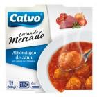 Albóndigas De Atún En Salsa De Tomate Calvo 280 Gr. <hr>9.86€ / Kilo.
