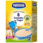 Papilla Nestlé 8 Cereales Con Yogurt 600 Gr <hr>6.37€ / Kilo.