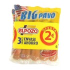 Salchichas Big Pavo Pack-3 540 Gr