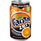 Fanta Zero Naranja Lata 33 Cl <hr>1.30€ / Litro.