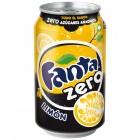 Fanta Zero Limón Lata 33 Cl <hr>1.30€ / Litro.