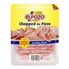Chopped De Pavo  El Pozo 180 Gr <hr>7.89€ / Kilo.