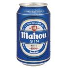 Cerveza Mahou Sin Alcohol Lata 33 Cl <hr>1.55€ / Litro.