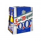 Cerveza San Miguel 0.0 Sin Alcohol 25 Cl P-6 <hr>1.72€ / Litro.