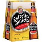 Cerveza Estrella Galicia 25 Cl Pack-6 <hr>2.02€ / Litro.