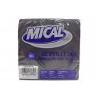 Servilleta Mical Negra 33x33 50 Und <hr>0.02€ / Unidad