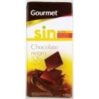 Chocolate Negro 52% Sin Azúcar Gourmet 125 Gr <hr>10.40€ / Kilo.