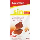 Chocolate Con Leche Sin Azúcar Gourmet 125 Gr <hr>10.40€ / Kilo.