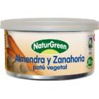 Pate Almendra Y Zanahoria NaturGreen 125 Gr <hr>22.48€ / Kilo.