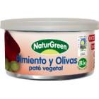 Pate Pimiento Y Olivas NaturGreen 125 Gr <hr>22.48€ / Kilo.