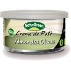 Crema De Paté Almendra Y Olivas NaturGreen 130 Gr <hr>22.23€ / Kilo.