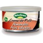Crema De Paté Almendra Y Ajos Salvajes NaturGreen 130 Gr <hr>22.23€ / Kilo.