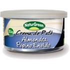 Crema De Paté Almendra, Pepino Y Eneldo NaturGreen 130 Gr <hr>22.23€ / Kilo.