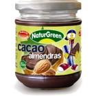 Crema De Almendras Y Cacao NaturGreen 200 Gr <hr>22.50€ / Kilo.