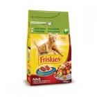Comida De Gatos Friskies Buey,Higado Y Verduras 1,5 Kg <hr>2.53€ / Kilo.