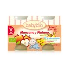 Potito Manzana Platano Babybio 2x130 Gr <hr>10.00€ / Kilo.