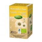 Caja Infusión Manzanilla Con Anis Eco 20 Filtros <hr>0.10€ / Unidad