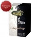 Caja Infusión Te Blanco Darjeeling 20 Filtros         <hr>0.22€ / Unidad