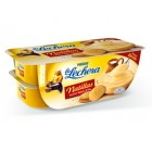 Natillas La Lechera Galleta 4 X 115 Gr <hr>3.87€ / Kilo.
