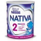Leche Continuación NATIVA 2 600 Gr <hr>9.58€ / Kilo.
