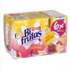 Pascual Bifrutas Fresa Y Plátano 200 Ml Pack 6 <hr>2.15€ / Litro.