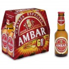 Cerveza Ambar 25 Cl Pack 6 <hr>1.69€ / Litro.