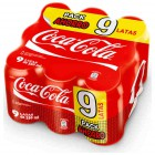 Cocacola Lata 33 Cl Pack 9 <hr>14.64€ / Litro.